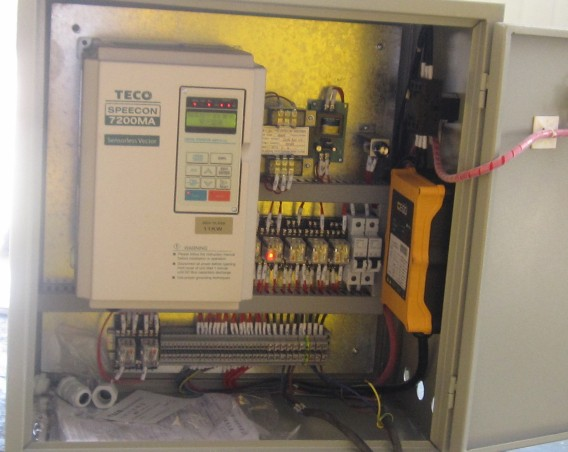 Wire or Wireless Electric Control Cabinet of Welding Rotator