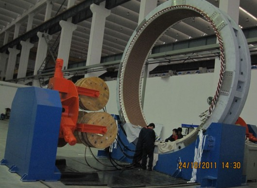 Wind Power Stator Wound Rotator