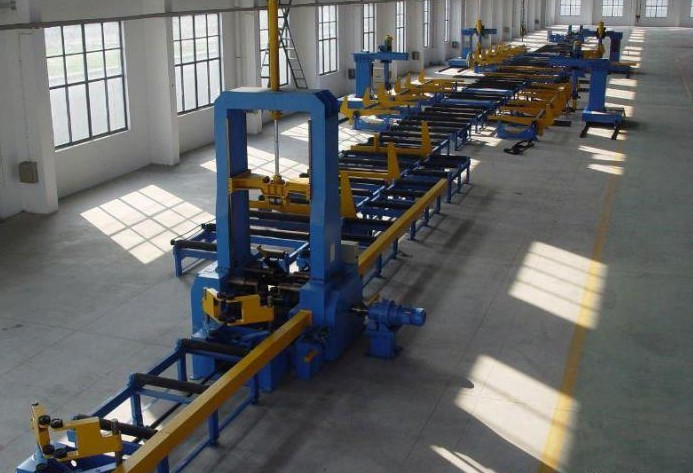Automatic Control H-beam Productions Line