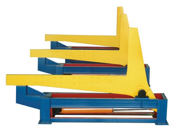 90 Degree H-beam overturning machine