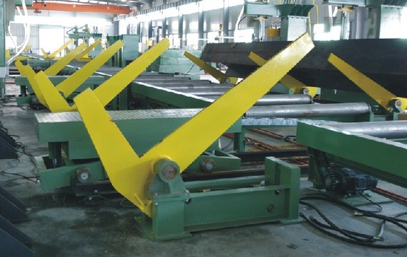 60 Degree H-beam overturning  machine