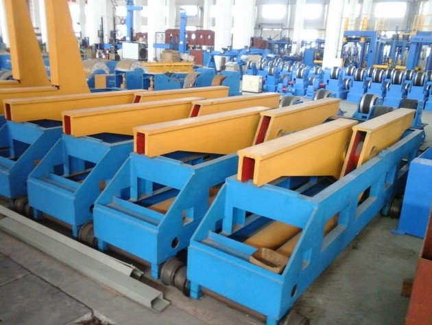 180 Degree Hydraulic overturning machine