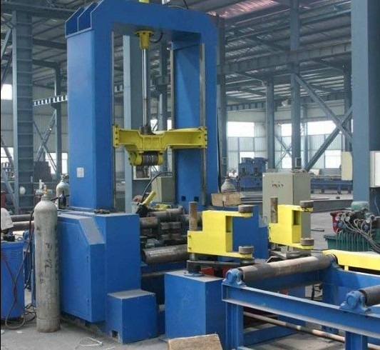 H-beam Web and Flange Plate Assemblying Machine