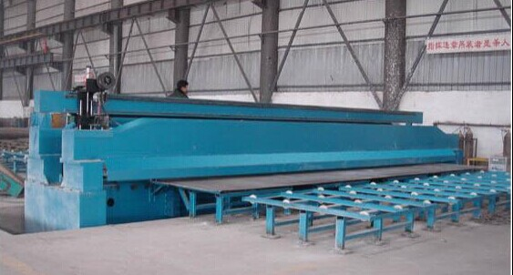 Plate longitudinal  seam welder for material of Carbon / Stainless /Al
