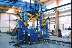 Power Tower Shut and Welding Machine