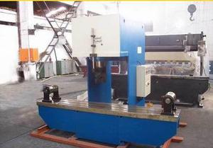 Light Pole Hydraulic Press Straighten Machine