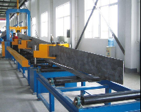 H beam Web and Flange Plate Assemblying Machine